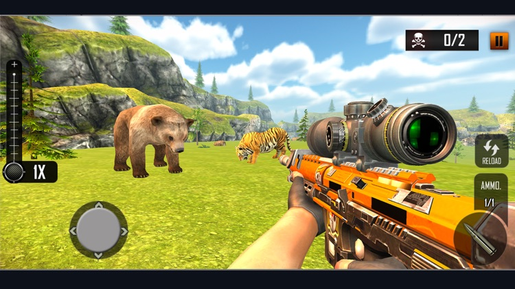 Wild Animal Hunting Adventure screenshot-0