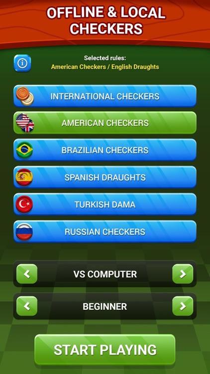 Checkers - Online & Offline screenshot-3