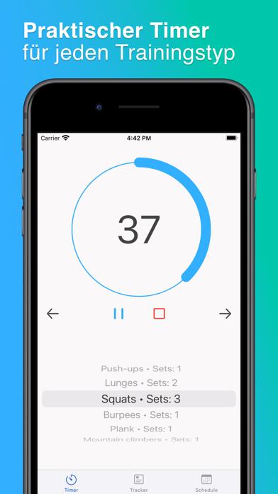 ProtoFit: Sport Interval TimerScreenshot von 1
