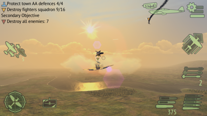 Screenshot from Warplanes: WW2 Dogfight FULL