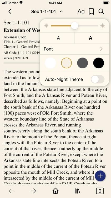 Arkansas Code (by PocketLaw) screenshot-5
