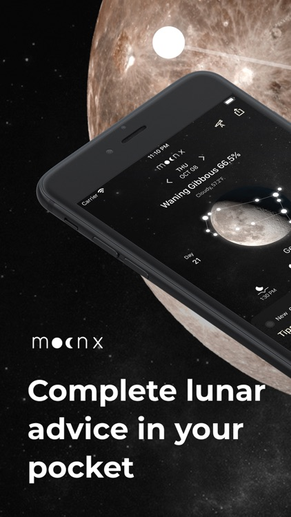 MoonX - Moon Phase Calendar