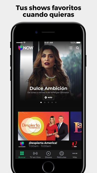 Univision Now Screenshot