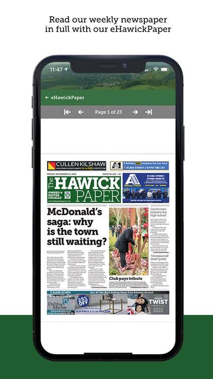 The Hawick Paper screenshot-5