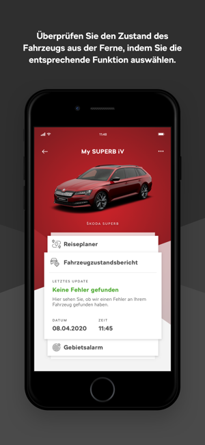 ‎MyŠKODA Screenshot
