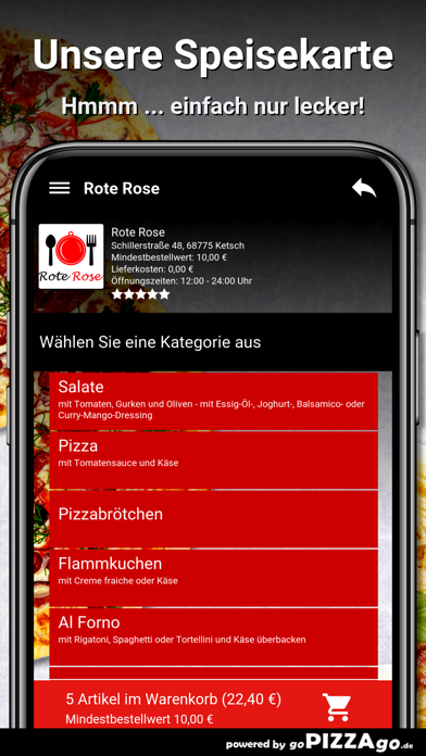 Rote Rose Ketsch screenshot 4
