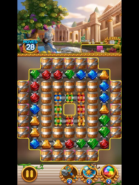 Jewel Athena: Match3 Puzzleのおすすめ画像5