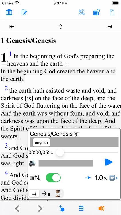 Bible YLT version (Young's) screenshot-8