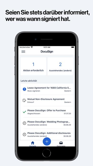 DocuSign: Unterlagen signierenScreenshot von 3