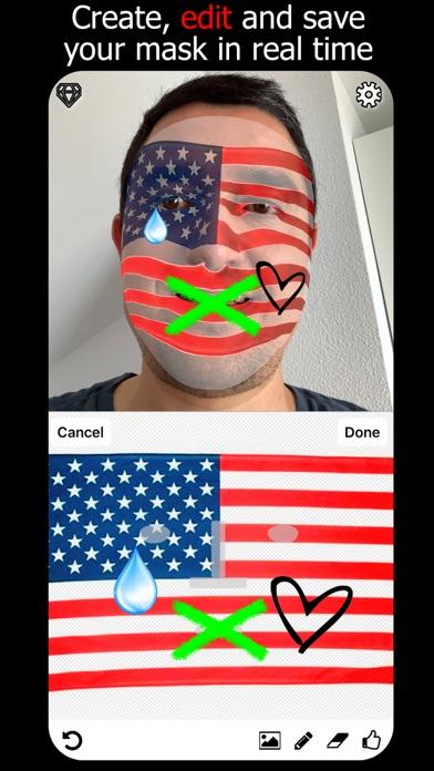 Masketor Face Mask Maker App screenshot 3