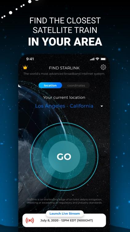 Starlink Tracker Live