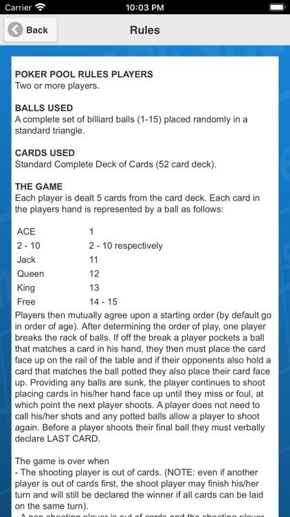 Poker Pool Scorecard screenshot-4