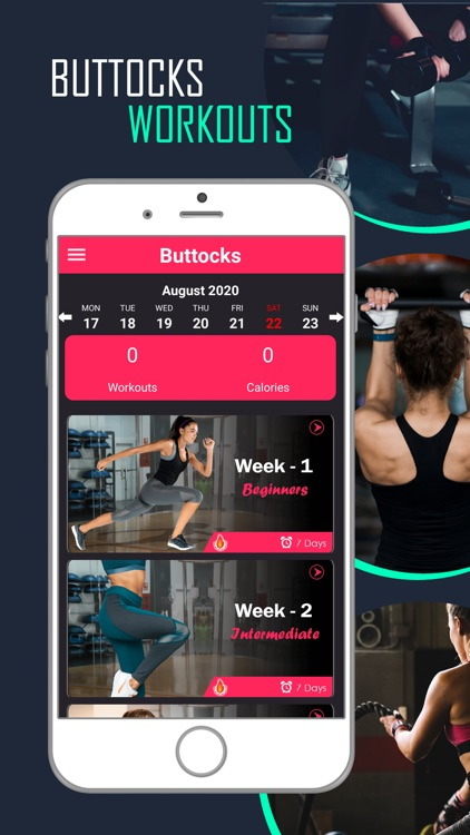 Butt Legs Workout for Buttocks