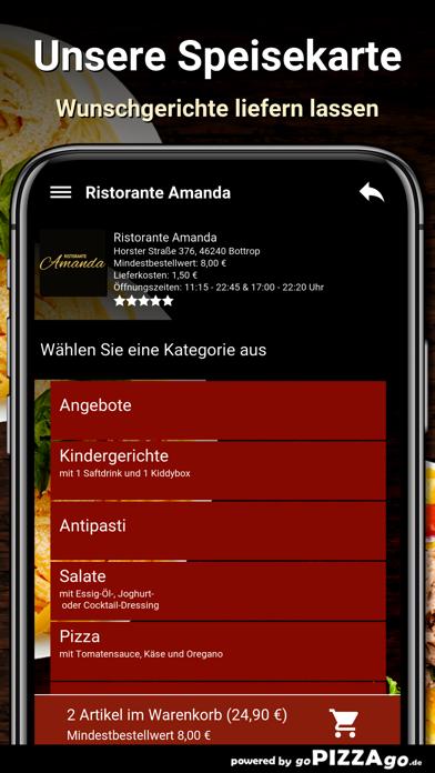 Ristorante Amanda Bottrop screenshot 4