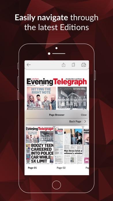 Evening Telegraph ePaperScreenshot of 2
