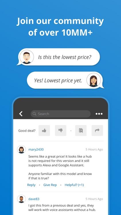 Slickdeals: Deals & Discounts screenshot-3