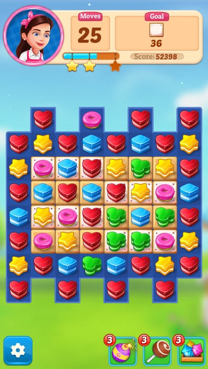 Cake Blast - Match 3 Puzzle screenshot-9