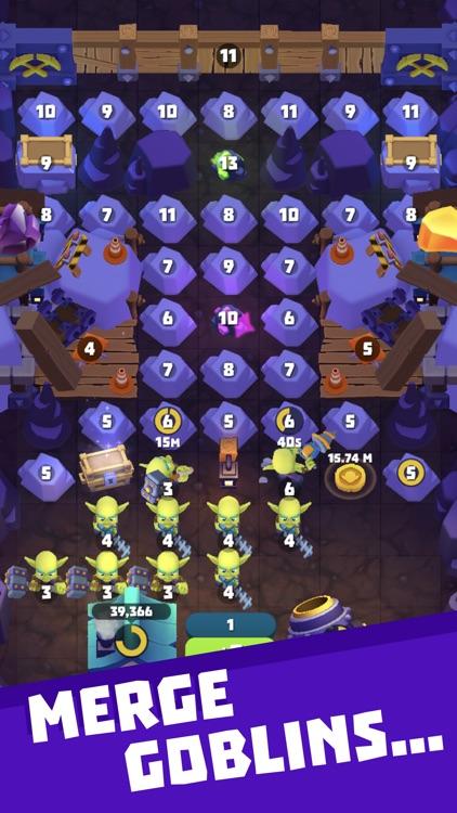 Gold and Goblins: Idle Merge screenshot-3