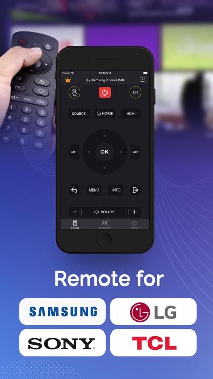 Universal Remote : Control TV