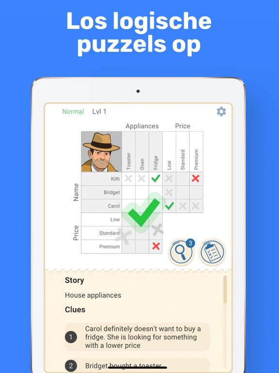 Cross Logic - Logische Puzzels iPad app afbeelding 1