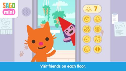 Sago Mini Apartment Adventure screenshot 1