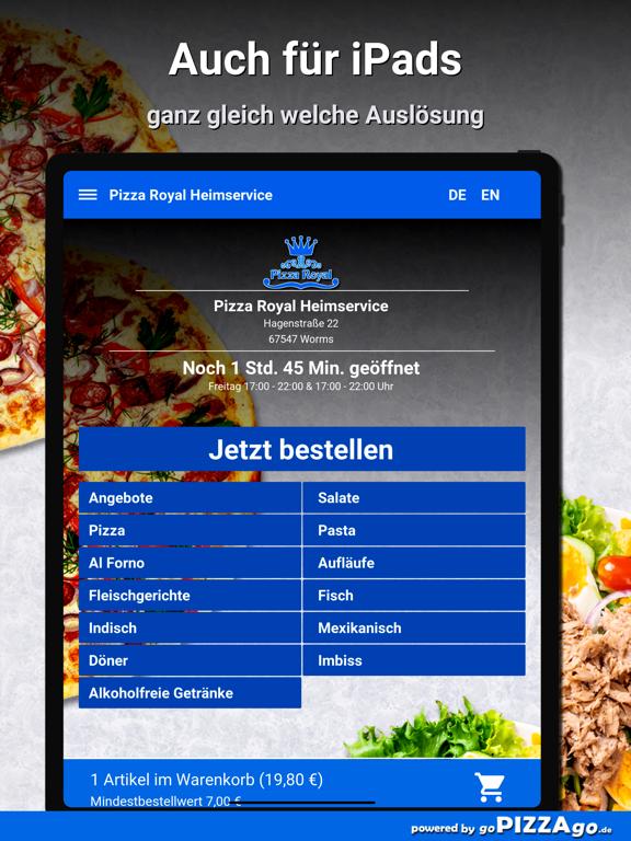 Pizza Royal Heimservice Worms screenshot 7