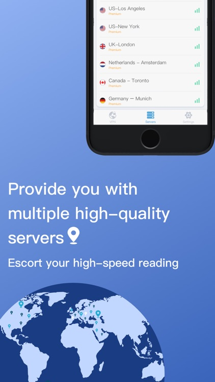 Thunder VPN - Secure VPN Proxy screenshot-3