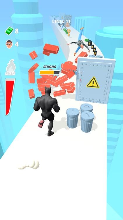 Muscle Rush - Destruction Run screenshot-3