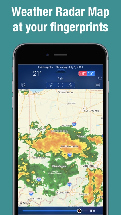Doppler Radar Map Live
