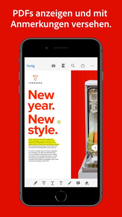 Adobe Acrobat Reader für PDFScreenshot von 5