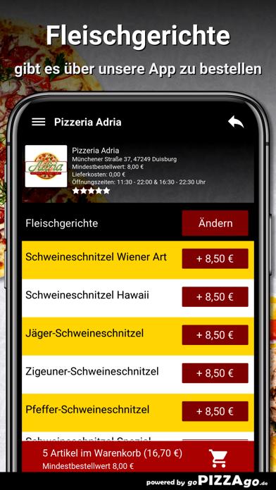 Pizzeria Adria Duisburg screenshot 6