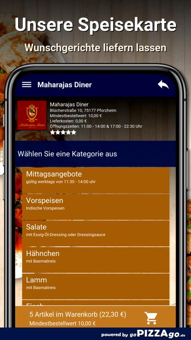 Maharajas Diner Pforzheim screenshot 4