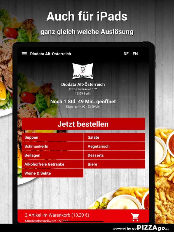 Diodata Alt-Österreich Berlin screenshot 7