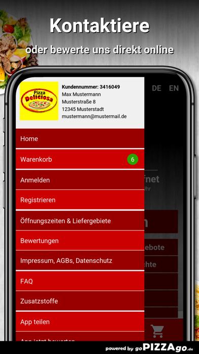 Pizza Deliciosa München screenshot 4