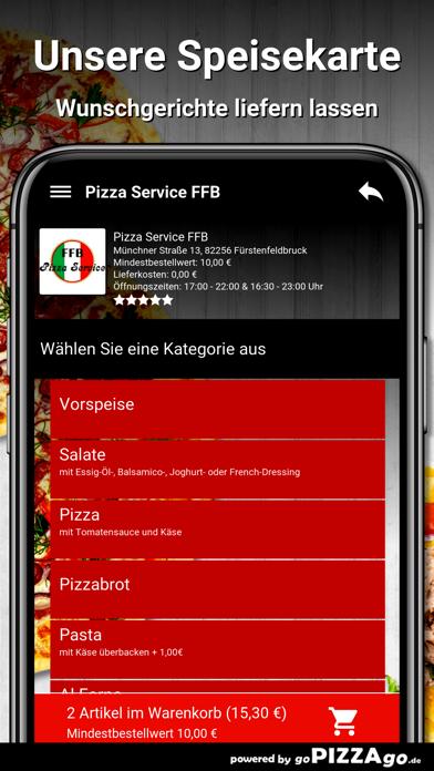 Pizza Service FFB Fürstenfeldb screenshot 4