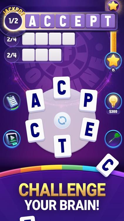 Wheel of Fortune Crossword Fun screenshot-5