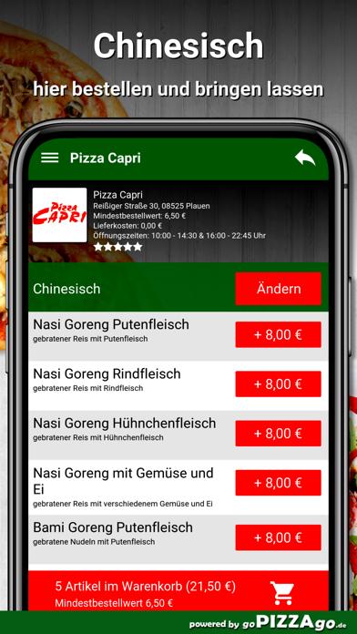 Pizza Capri Plauen screenshot 6