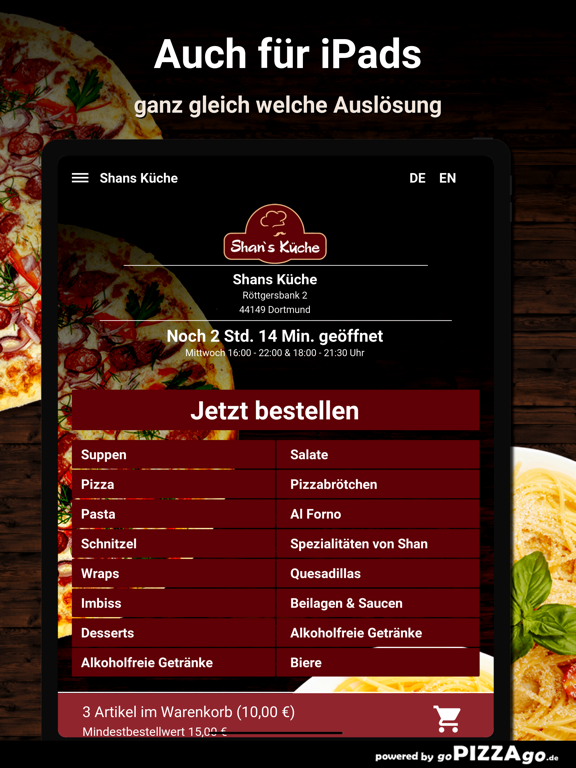 Shans Küche Dortmund screenshot 7