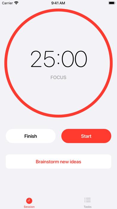 Clockable - Pomodoro Timer screenshot 2