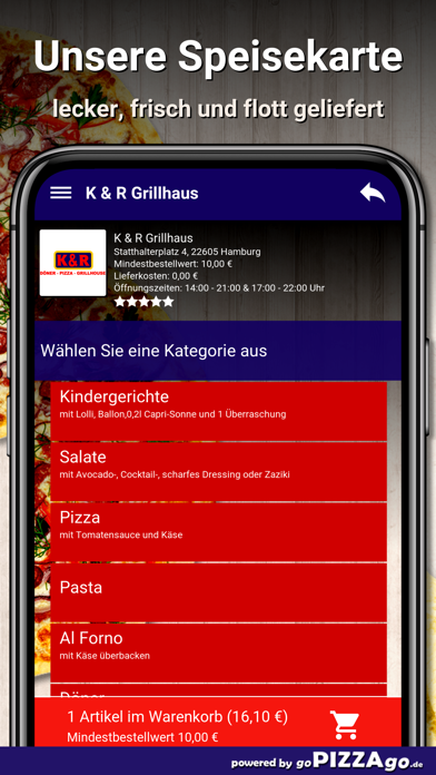 K & R Grillhaus Hamburg screenshot 4