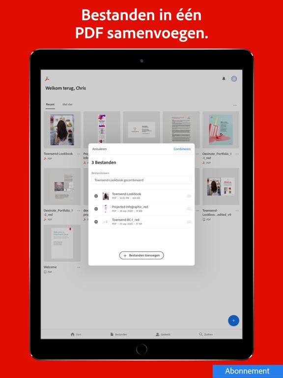 Adobe Acrobat Reader voor PDF iPad app afbeelding 9