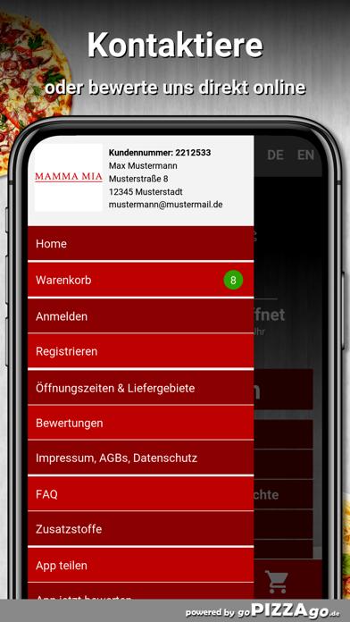 Pizzeria Mamma Mia Bensheim screenshot 3
