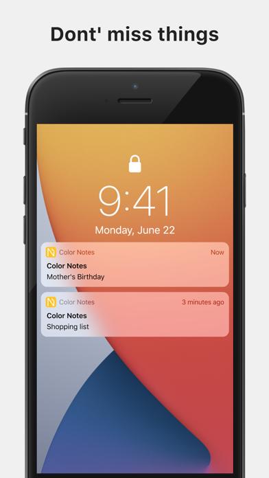 Color Note - Notepad screenshot 5