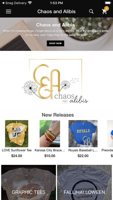 Chaos and Alibis screenshot 1