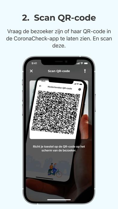 Scanner voor CoronaCheck iPhone app afbeelding 4