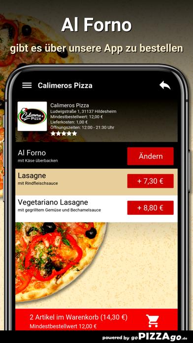 Calimeros Pizza Hildesheim screenshot 6