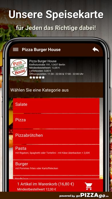 Pizza Burger House Berlin screenshot 4