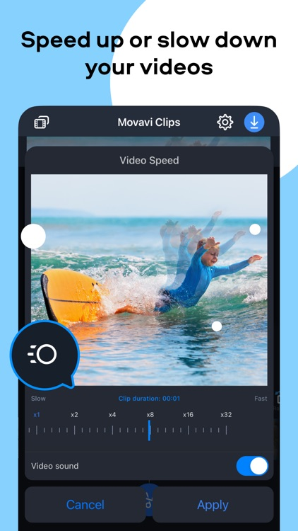 Movavi Clips Edit Video Editor screenshot-3