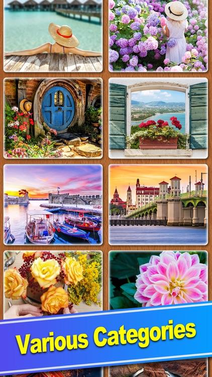 ColorPlanet® Jigsaw Puzzle HD screenshot-7