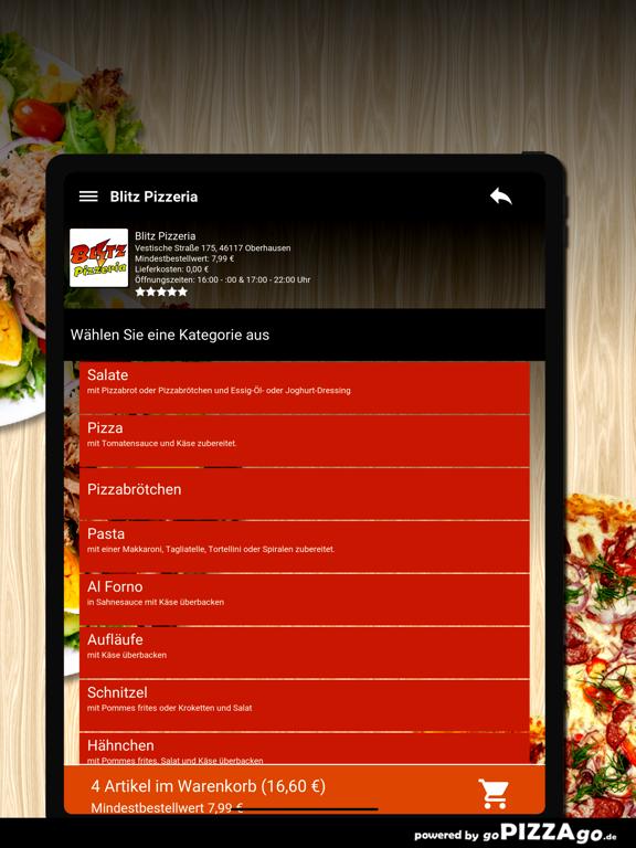 Blitz Pizzeria Oberhausen screenshot 8